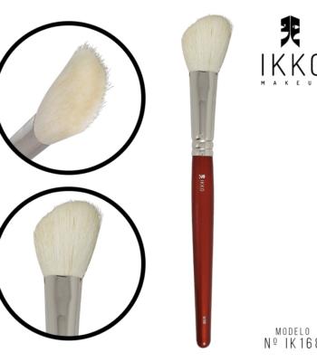pincel ikko makeup - modelo ik168m